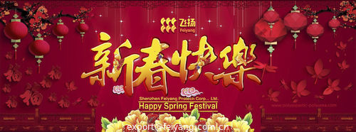 FEIYANG Spring Festival Holiday Schedule