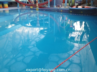 China Waterproof Polyaspartic Coating Projects-Water Cube Swimming Pool and Water Amusement Park supplier