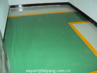 China Polyaspartic Flooring Coating Projects-Workshop Polyaspartic Floor Coating supplier