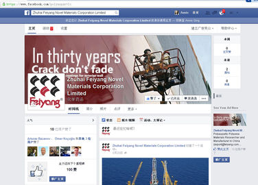China Zhuhai Feiyang Novel Materials Corporation Limited Facebook Page supplier