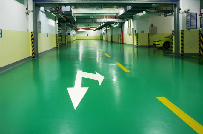 Outdoor Self-leveling Polyaspartic Flooring Coating Feature