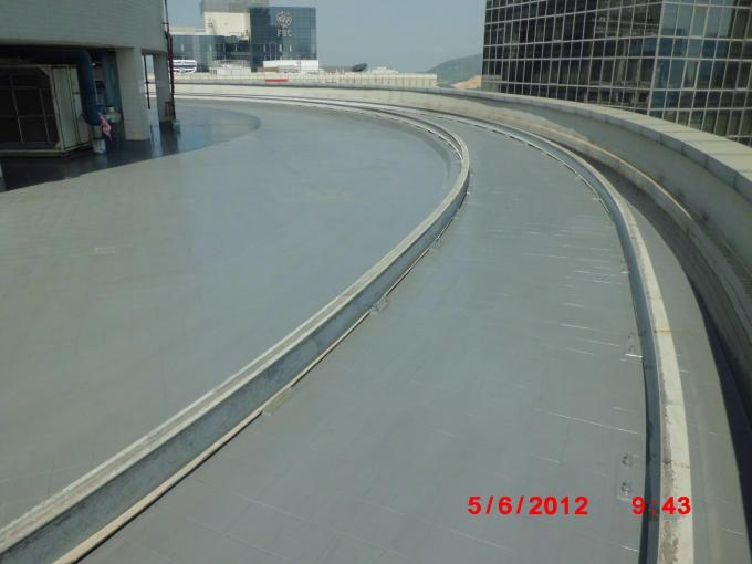 Waterproof Polyaspartic Coating Projects-Waterproof of Macau Square Roof