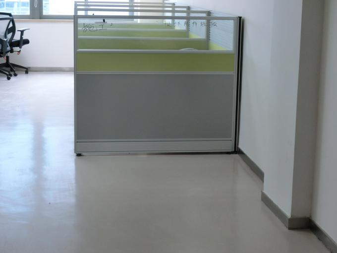 Polyaspartic Flooring Coating Projects-Office Soft Touch Polyaspartic Floor Coating