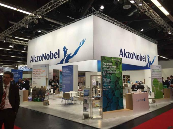 A Big Party--2015 European Coating Show Memory