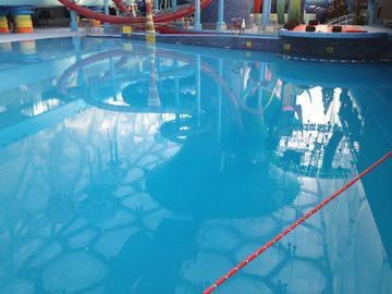 Waterproof Polyaspartic Coating Projects-Water Cube Swimming Pool and Water Amusement Park